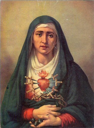 The Immaculate Heart of Mary